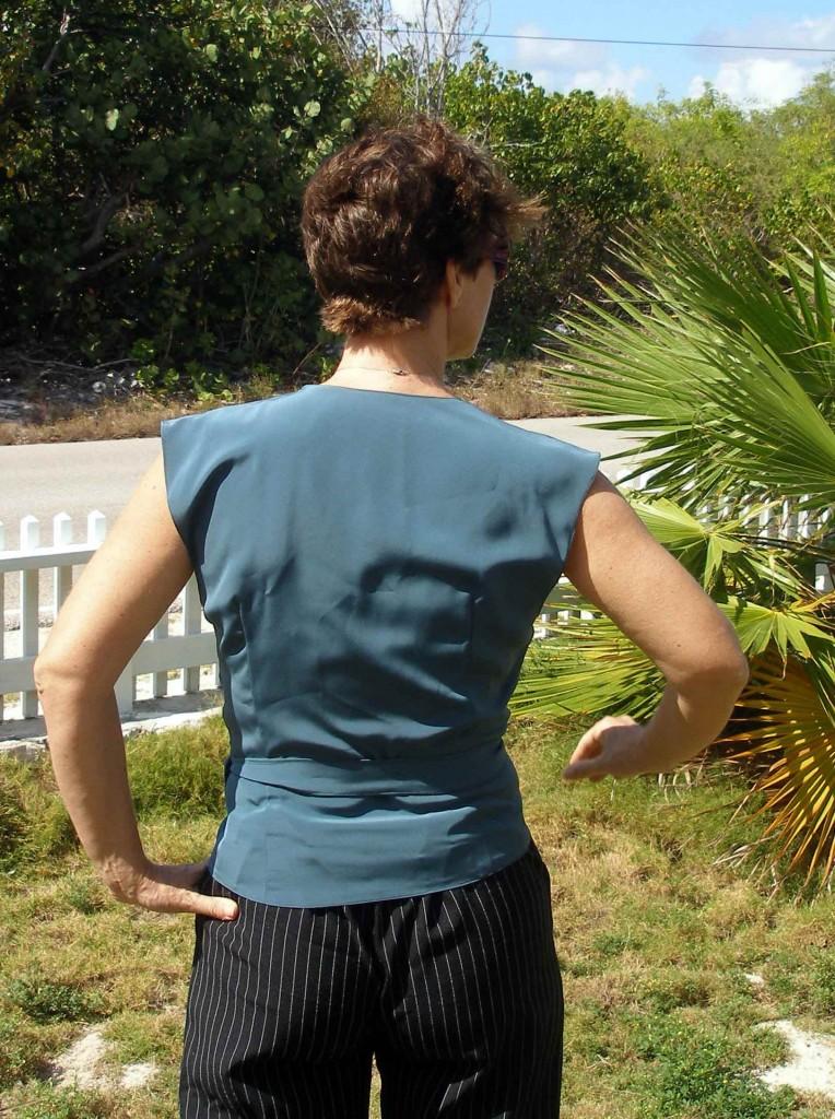 So Sew Easy:  Wrap front blouse failure
