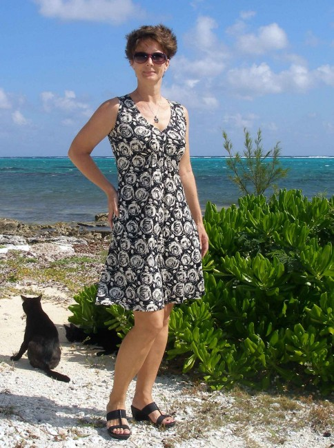 So Sew Easy - M6074 one hour dress.