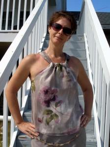 So Sew Easy - Easy halter chiffon blouse