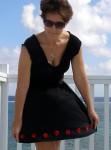 Easy elastic waist skirt