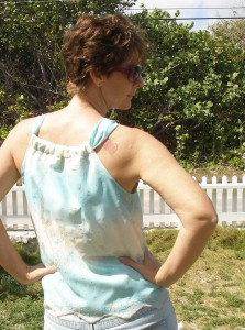 So Sew Easy: Chiffon blouse, free pattern and tutorial