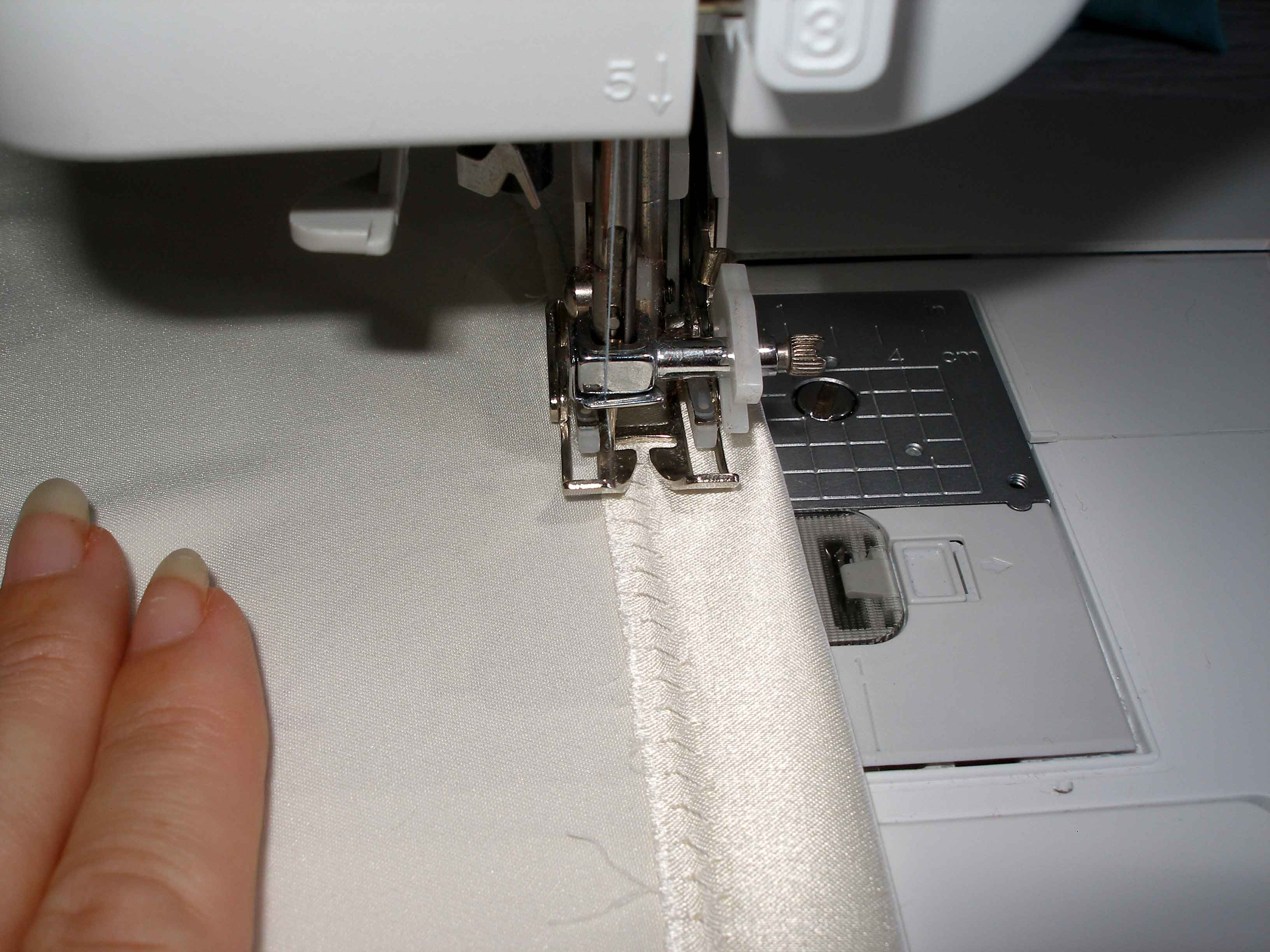 Hemming your blouse