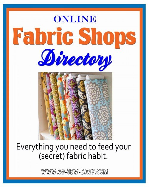 so sew easy directory of online fabric shops