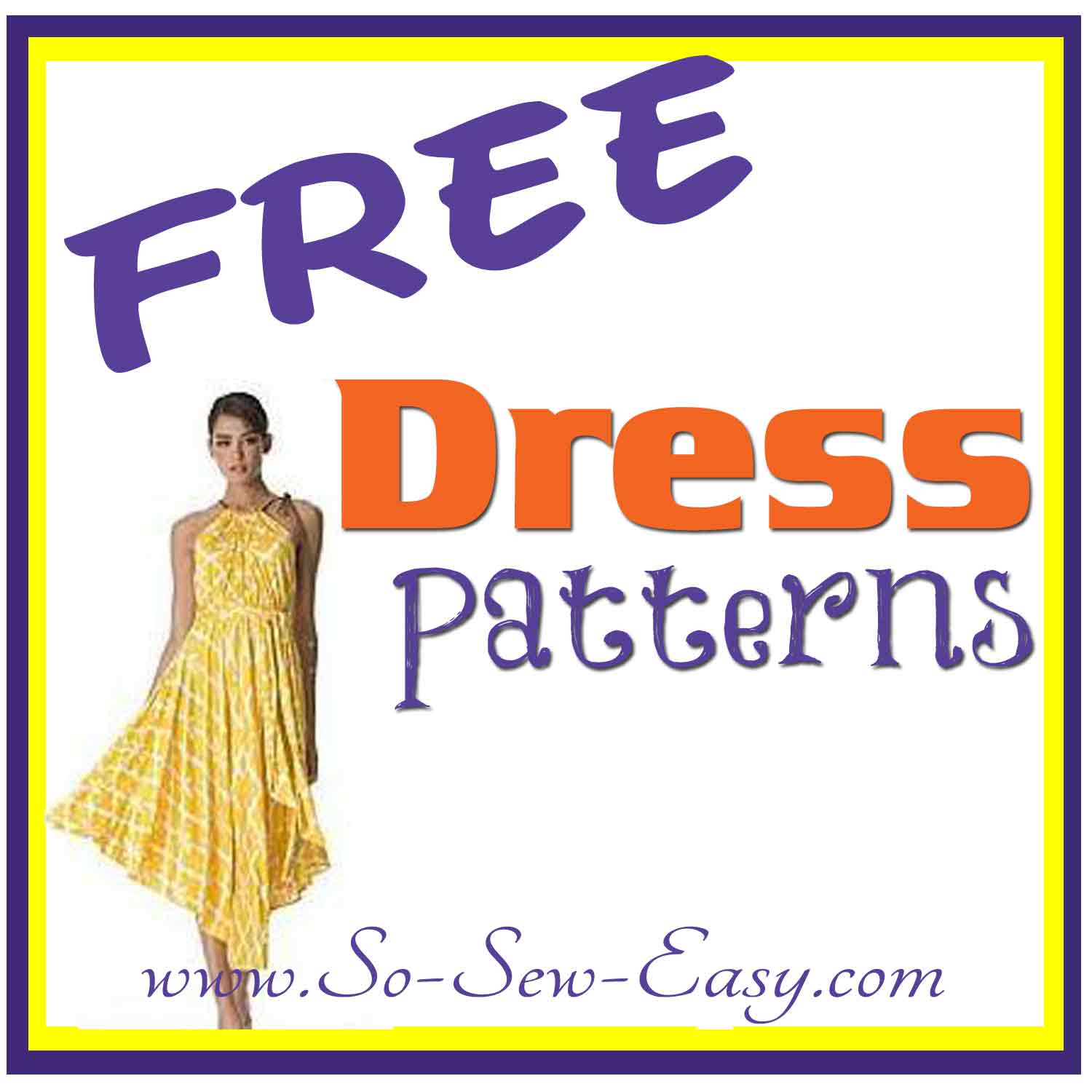 3edd7aaa76f FREE Dress patterns listing - So Sew Easy