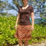 So Sew Easy - V-neck T-shirt and A-Line skirtzx