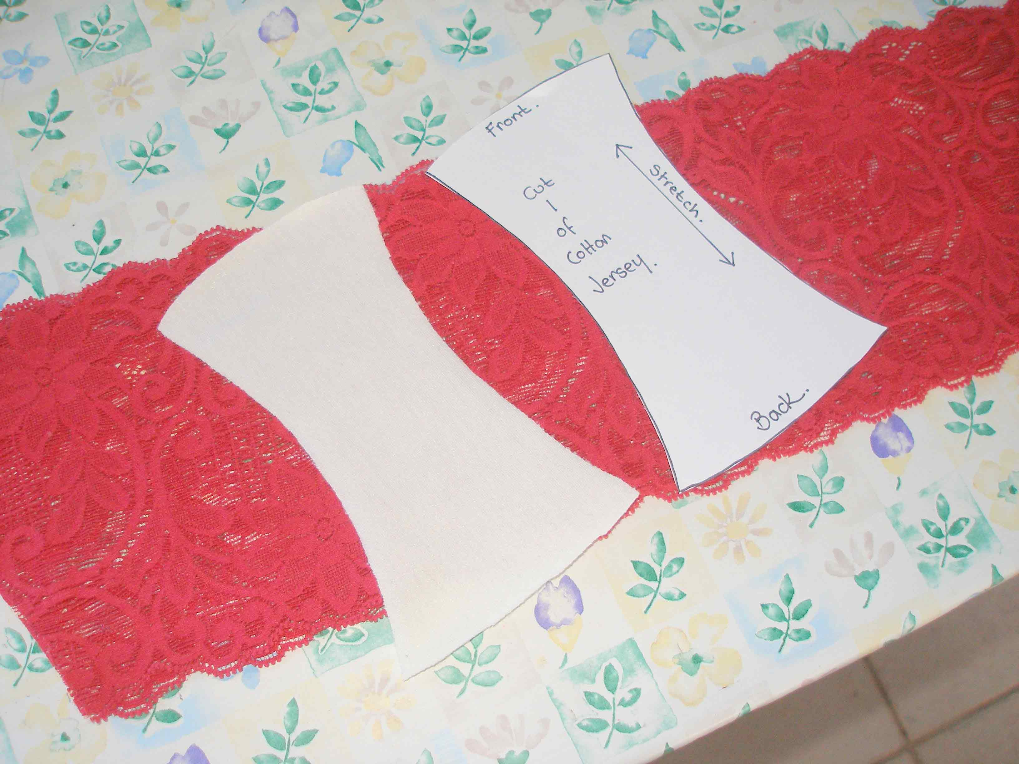 So Sew Easy - sew your own undies - free pattern