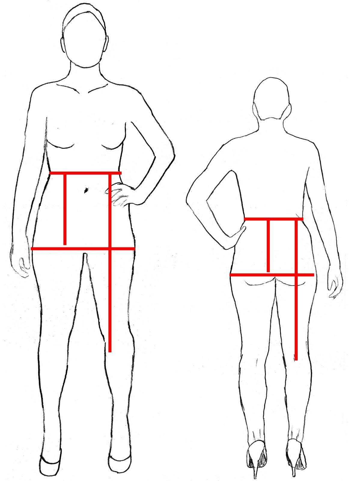 So Sew Easy - measuring for your pencil skirt sloper