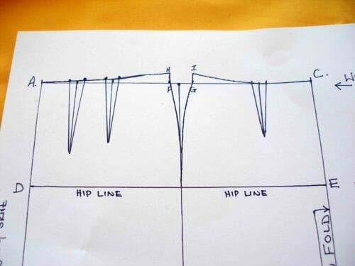 So Sew Easy - drawing your own pencil skirt sloper pattern.  It's so easy - spreadsheet provided.