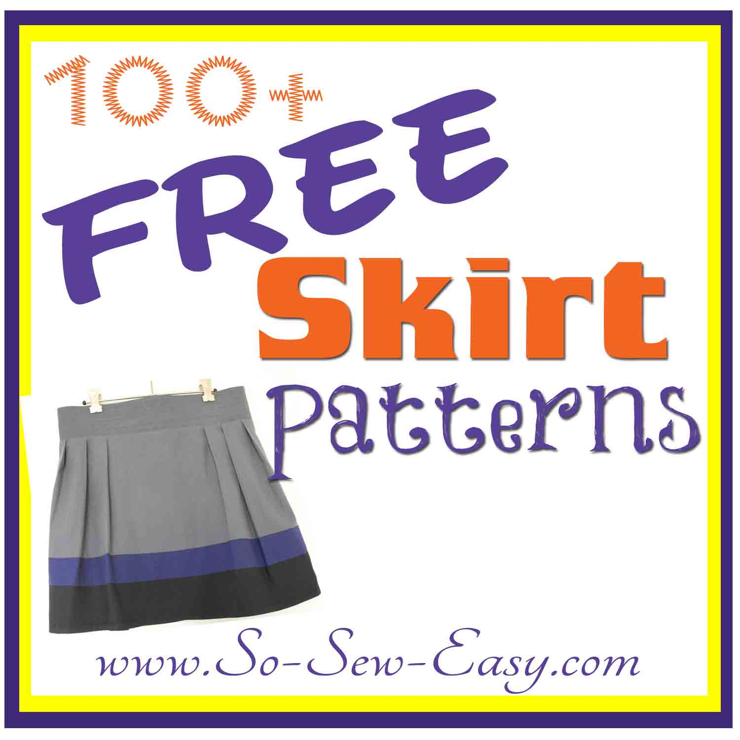 Free Skirt Sewing Patterns – over 100