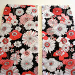 Cutting fabric and pattern matching. Part of the Sew A Skirt series from So Sew Easy.