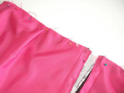 How to add a lining to a skirt. Part of the Sew A Skirt beginners series from So Sew Easy