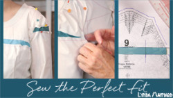 Bodice and full bust adjustment, sewing the perfect fit from So Sew Easy