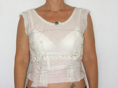 Bodice adjustment, and full bust adjustment, part of Sew the Perfect Fit from So Sew Easy