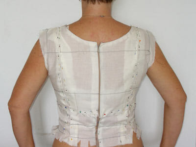 Bodice and full bust adjustment, part of Sew the Perfect Fit from So Sew Easy