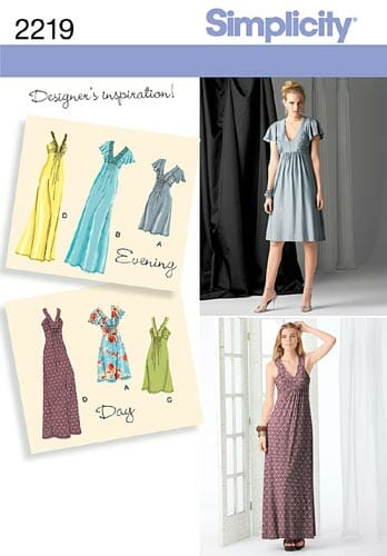 Simplicity 2219 pattern review by So Sew Easy.