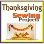 Thanksgiving sewing projects. Want to go turkey crazy? Sewing projects for fall and Thanksgiving.