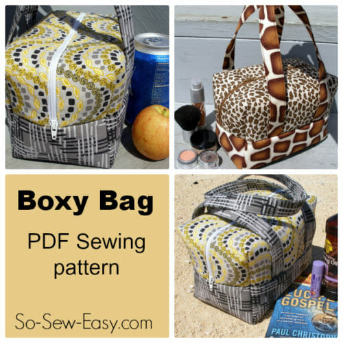 """Thank You"" Surprise Giveaway. $6.95 Boxy Bag Pattern FREE Today Only!"