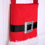 Sew this Santa Toe Bag tutorial and pattern.