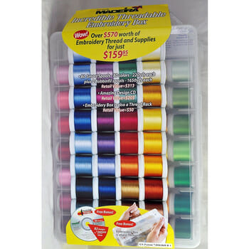 Win a huge Box of 80 beautiful threads from Sew Vac Direct in this giveaway ending 9 Dec