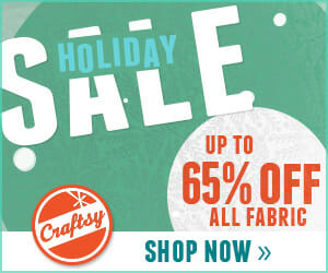 Save up to 80% off yarn and 65% off fabric in the Holiday Sale from 27th Nov to 2nd Dec,