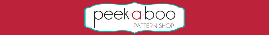 Win a pack of 5 sewing patterns of your choice today from Peek-A-Boo Patterns. Closes 3rd Dec.