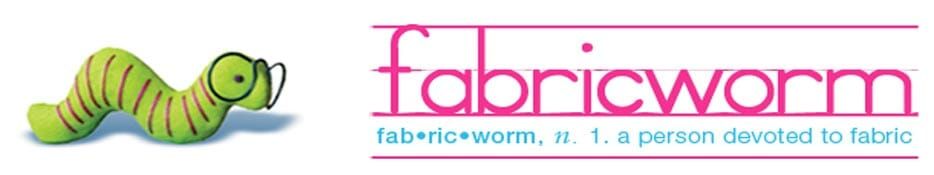 Free fabric giveaway, sponsored by Fabric Worm. Win 2 yds of your choice from the Just fro Fun collection. Closes 28 Nov.