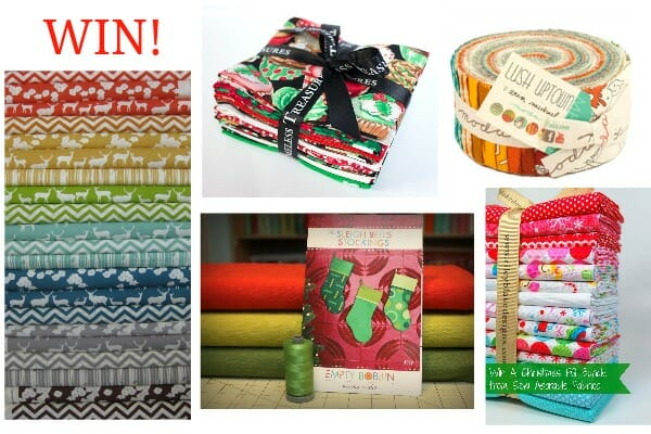 Fabulous sewing giveaway as part of the Holiday Hostess series. 10 awesome prizes - closes 21 Nov.