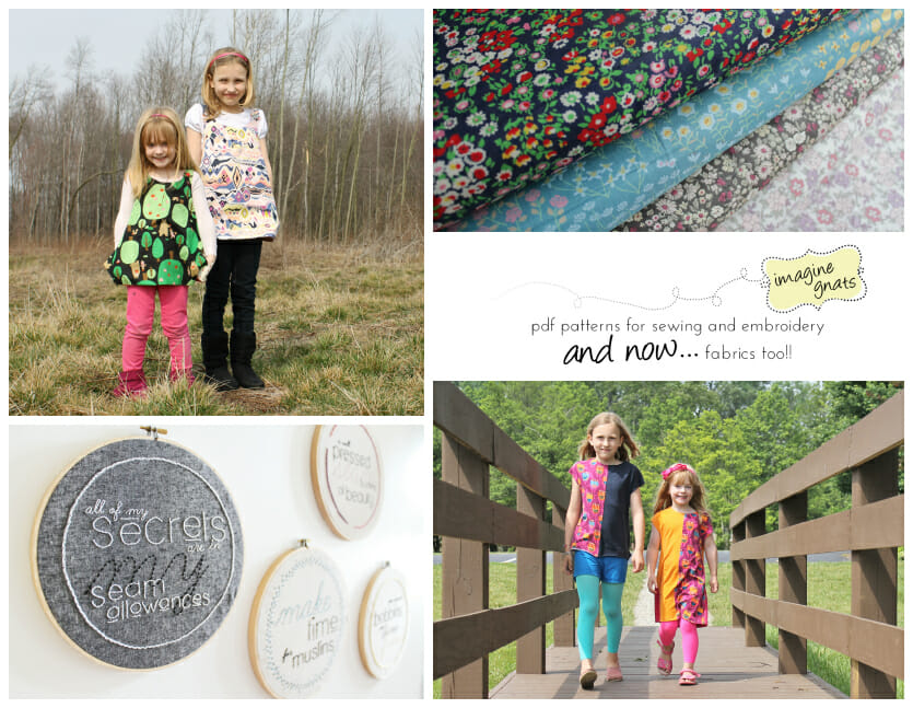 Win a $50 voucher to spend on patterns or fabric at Imagine Gnats. Closes 4 Dec.