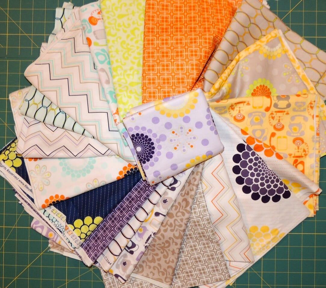 Win a Riley Blake 21 pieces Fat Quarter bundle from Lemon Tree fabrics at So Sew Easy. Closes 29 Nov
