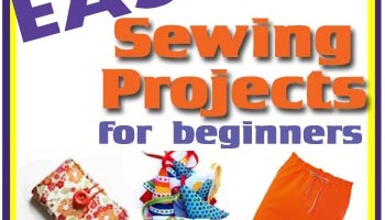Easy sewing projects for beginners. New to sewing? Find great starter projects here including bags, accessories, clothing, home decor, seasonal and more. From So Sew Easy.