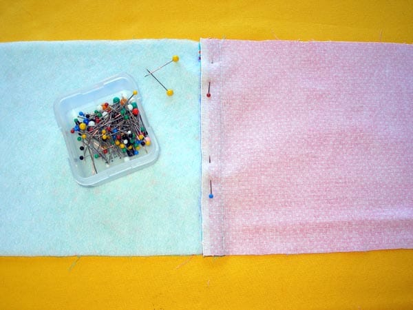 Make a hot pot handle holder.  5 minute easy sew - scrap buster and practical too!