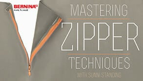 Mastering Zipper Techniques, FREE online course from Craftsy.