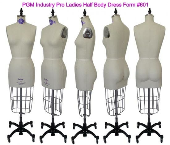 PGM Pro 601 dress form - review and video from So Sew Easy
