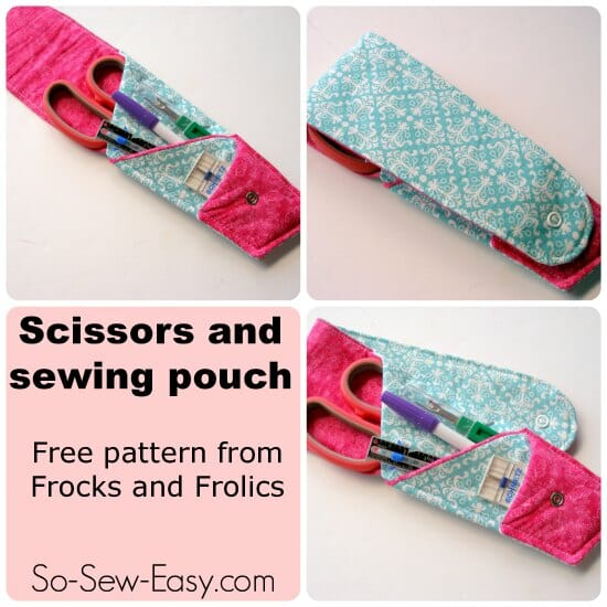 Sewing Pouch So Sew Easy
