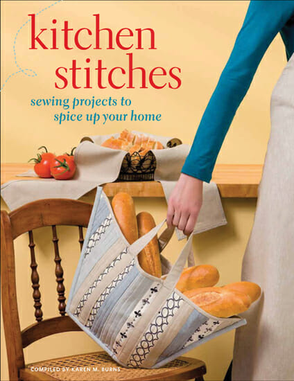 Kitchen stitches.  Sewing for the home - great ideas.