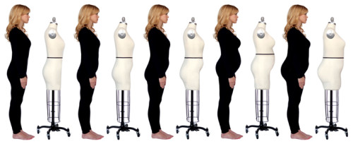 Padding out a dress form to match your size and shape using the Fabulous Fit Dress Form Padding System