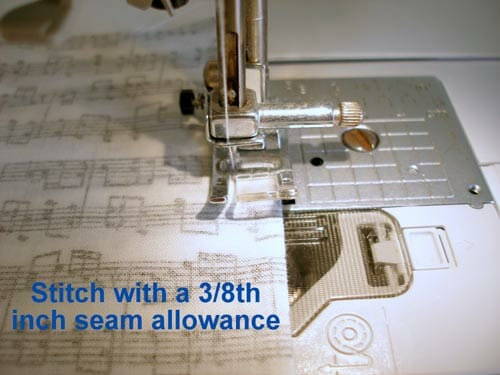How to sew a French Seam. Ideal for light weight or sheer fabrics.