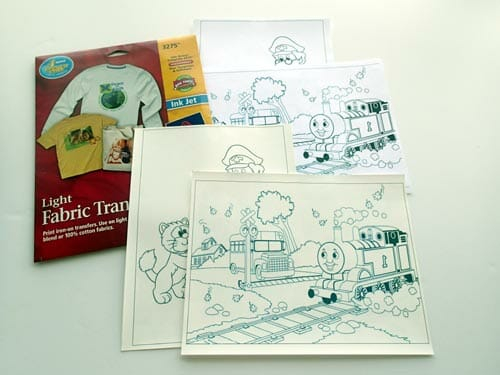 Toddler Dry Erase Coloring Placemat - So Sew Easy