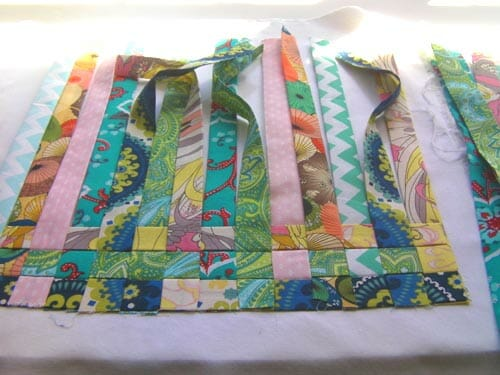 Woven Fabric Pillow Cover For My Sewing Chair So Sew Easy