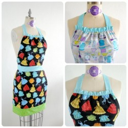 Reversible apron pattern. Sew looking forward to making this apron!