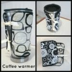 Reversible coffee cover