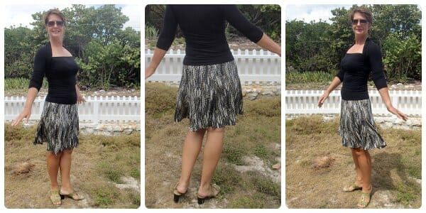 gored skirt pattern