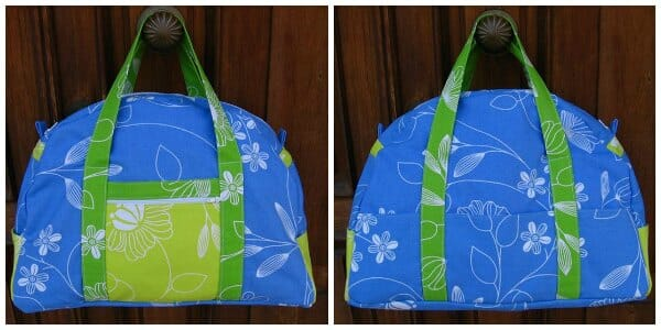 The Carry All Bag pattern.