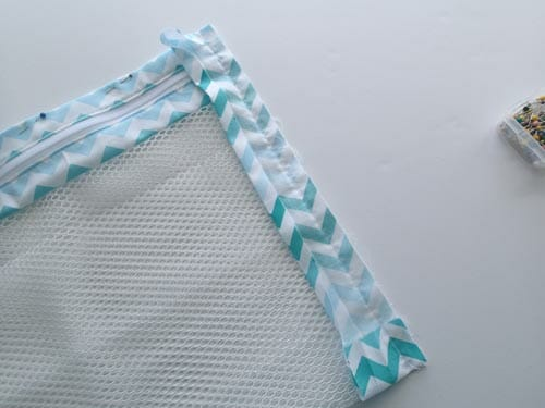 Sew a mesh lingerie bag for travelling, storage or laundry