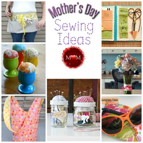My mom taught me how to sew, so I'll be returning the love with a handmade gift for Mother's Day from this pretty selection