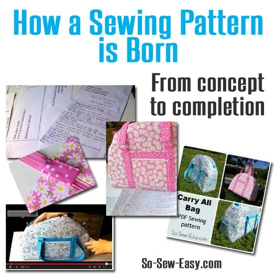 How a sewing pattern is born - So Sew Easy