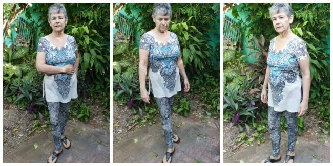 Sew Simple Leggings pattern. Designed using measurements from real women.