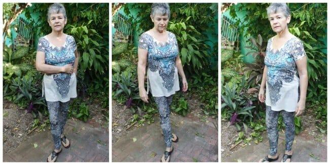 Sew Simple Leggings pattern. Designed using measurements from real women.