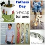 Sewing ideas for men and gifts for Fathers Day to sew.. I can see my Dad liking some of these.