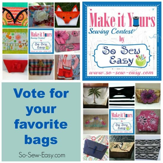 Vote for your favorite bags and get bags of inspiration in the Make It Yours Contest